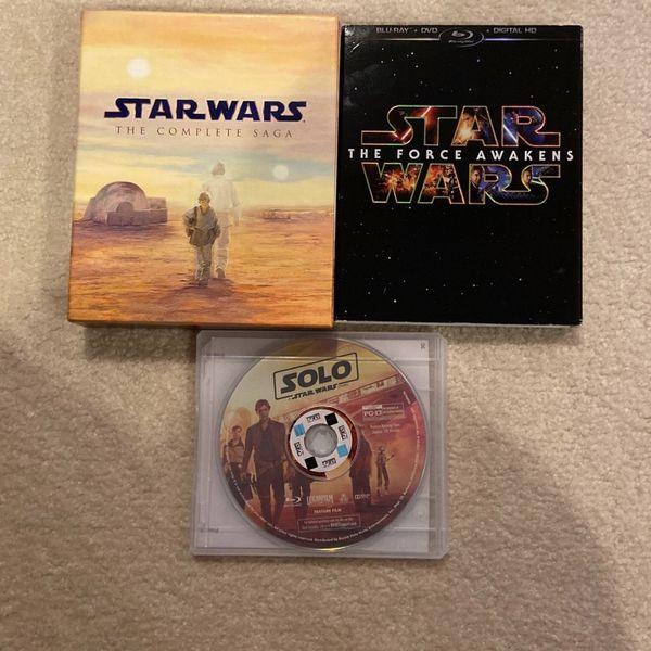 Star Wars Blu Rays