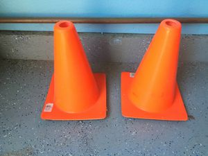 2 Safety Cones. 12 Inches Tall for Sale in Menifee, CA