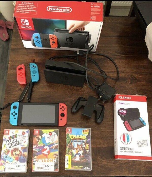 Nintendo switch (bundle)