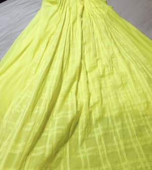 Size 18 Lane Bryant Canary Yellow Rayon Pleated Floor Length Sun-dress $10 for Sale in Nashville, TN