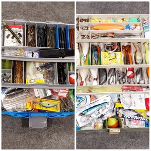 Fishing tackle boxes for Sale in Los Angeles, CA