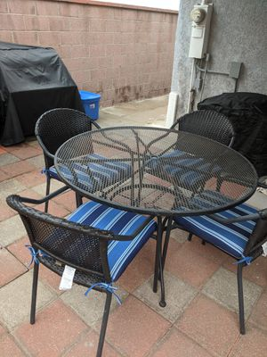 Steel patio furniture for Sale in Hawthorne, CA