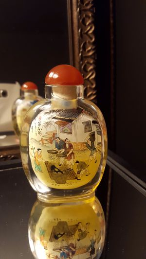 Antique Chinese Hand Painted perfume oil bottle⭐️⭐️⭐️⭐️⭐️ for Sale in Los Angeles, CA