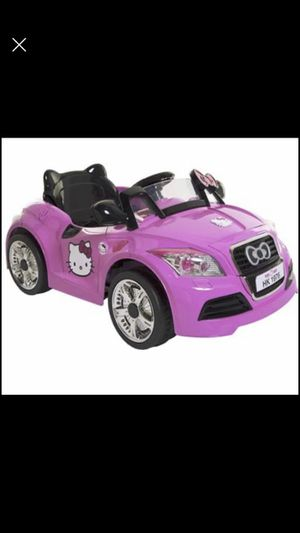SANRIO Hello Kitty 6V Battery Powered Car for Sale in Tampa, FL
