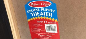 DELUXE PUPPET THEATER AND 3 PUPPETS for Sale in Plantation, FL