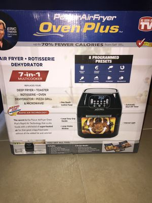 Power Air-fryer Oven Plus 7-in-1 multicooker for Sale in Phoenix, AZ