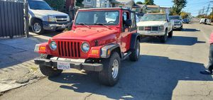 2004 Jeep Wrangler for Sale in Oakland, CA