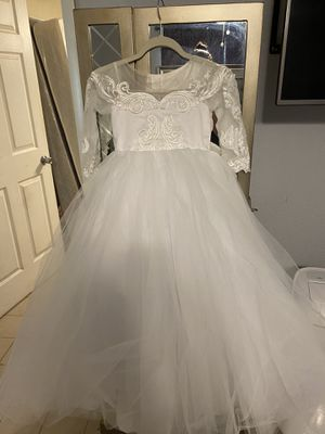 Wedding Flower Girl Dress for Sale in Miami Gardens, FL