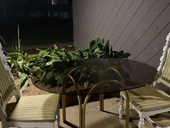 Glass Table And Chairs! Open To Negotiations for Sale in San Diego,  CA