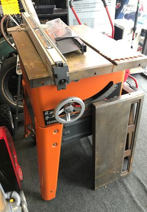 Ridgid Table Saw Industrial TS3660 for Sale in Somerdale, NJ