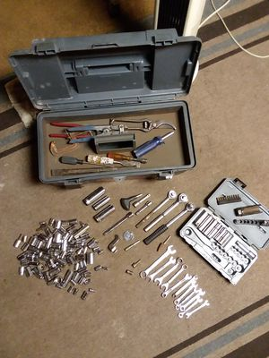Tool box full of tools, sockets for Sale in Columbus, OH