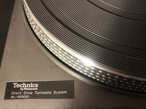 Technics SL-2000 and SL-D2 Direct Drive Turntables for Sale in Eno Valley, NC