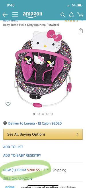 Hello Kitty Baby Rocker! for Sale in San Diego, CA