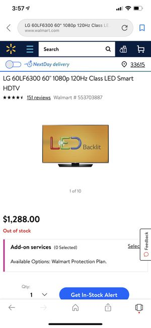 "LG 60"" smart tv for Sale in Tampa, FL"