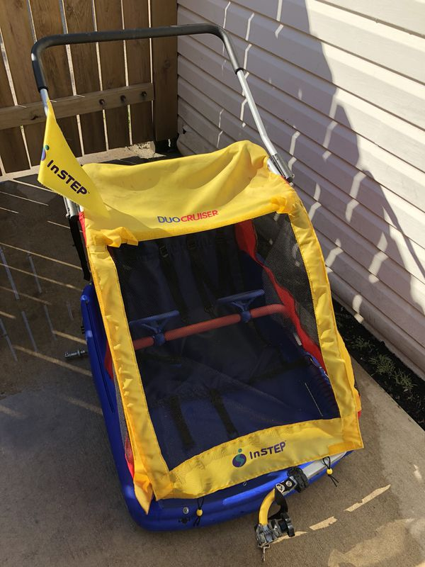 Instep Bike Trailer Kids Duo Cruiser For Sale In Chicago Il Offerup
