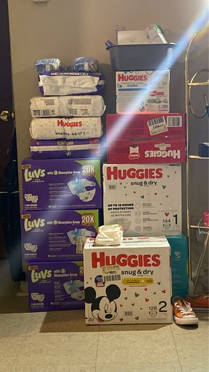 Huggins , Luvs & Pampers For Sale ‼️ for Sale in High Point, NC