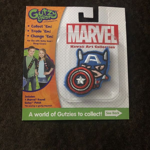 Captain America Patch ... Marvel!!