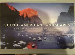 Scenic American Landscapes Complete Booklet Set Of 20 Cards-UX601-UX610 -Sealed for Sale in San Jose, CA