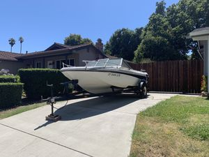 1985 imperial ski boat 17ft inboard outboard for Sale in San Ramon, CA