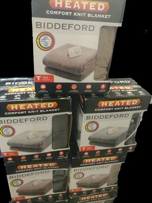 BIDDEFORD ELECTRIC BLANKET for Sale in Las Vegas, NV