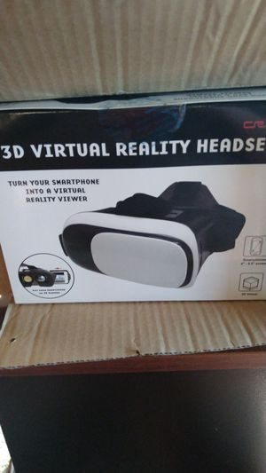3D virtual reality headset for Sale in Monahans, TX