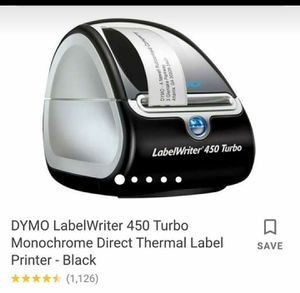 DYMO RETAIL AND LABEL QR CODE AND BAR CODE PRINTER for Sale in Long Beach, CA