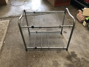 Two tier modular wire rack / shelf for Sale in Columbus, OH