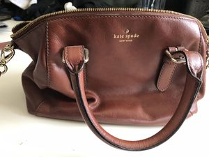 Kate Spade Brown Leather Purse and Crossbody for Sale in Aurora, CO