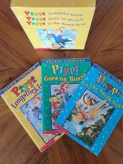 Pippi Longstocking 3 Box Set-Paperback for Sale in Gresham,  OR