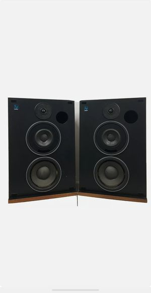 Rare Electro-Voice EV Interface C Series II Stereo Speakers Walnut Cabinet #7917 willing to ship for Sale in Costa Mesa, CA