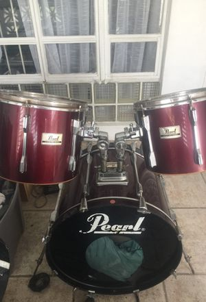 3 peaces Drum set Pearl for Sale in Miami, FL