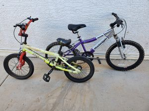 2 kids bikes, for Sale in Laveen Village, AZ