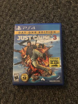 Just cause 3 ps4 game for Sale in Saint James, MO