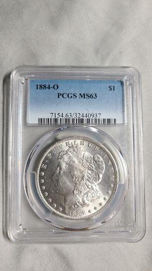 1884-o Morgan Silver Dollar MS63 for Sale in Riverside, CA