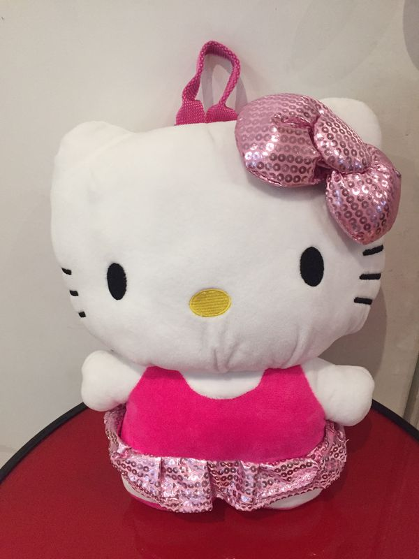 hello kitty small compartment backpack