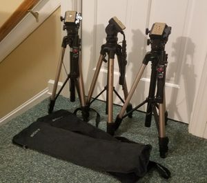 Tripods - Sony VCT-870RM for Sale in Raleigh, NC