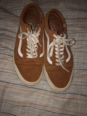 Orange Old Skool Vans for Sale in Chevy Chase, MD