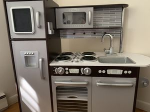 Kids wooden kitchen for Sale in Southington, CT