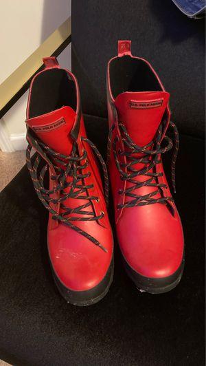 Men's Ralph Lauren rain boots I was for Sale in Rex, GA