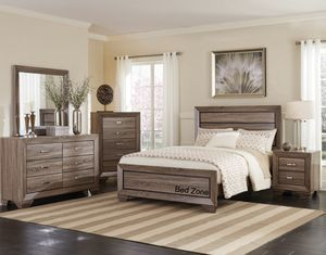 BRAND NEW WOODEN BED FRAME IN QUEEN, KING, CAL KING - COMPLETE BEDROOM SET AVAILABLE for Sale in Antioch, CA