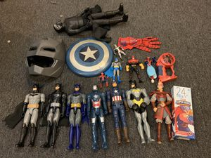 Marvel and dc comic action figurines collectibles toys for Sale in Greenville, SC