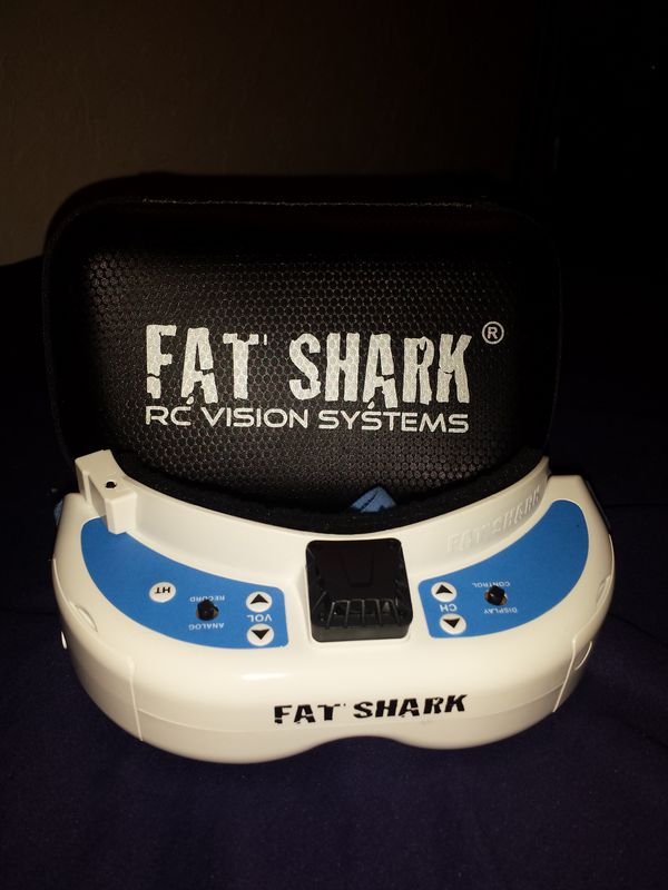Fat Shark RC vision systems for drones