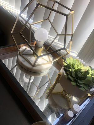 Geometric lamp! for Sale in Denver, CO