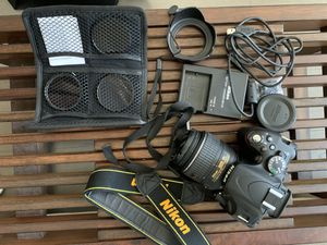 Nikon D5100 Digital Camera with bag and accessories for Sale in Houston, TX