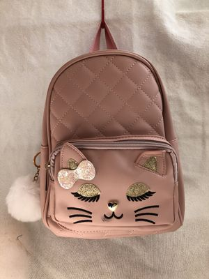 "Girls Backpack ""Blush and Nude Kitten Bag"" for Sale in Downey, CA"