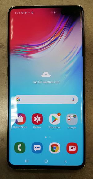 Verizon Samsung Galaxy S10 5g 256gb Silver Android Smart Cell Phone for Sale in Vancouver, WA