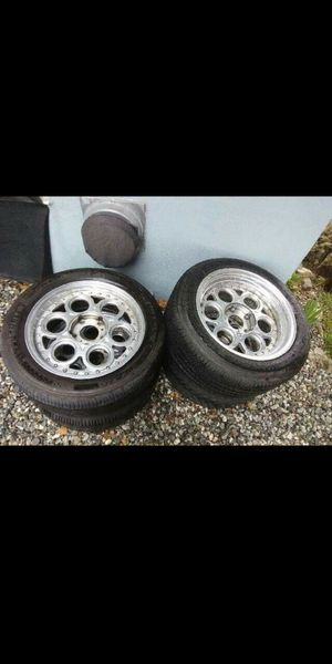 5 lug 5.5 lug pattern staggered rims Chevy/Jeep/ford for Sale in Pomona, CA
