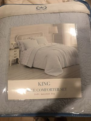 The Praire by Rachel Ashwel King 3 Piece Comforter for Sale in Homestead, FL