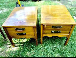 Antique night stands / end tables for Sale in Silver Spring, MD