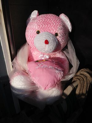 A big pink teddy bear for Sale in Sharon Hill, PA